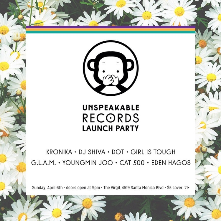 Unspeakable Launch Party